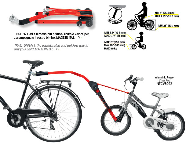 Peruzzo Child Bicycle Tow Bar Bicycle Model Ideas